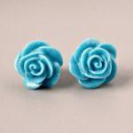 ocean blue roses 1
